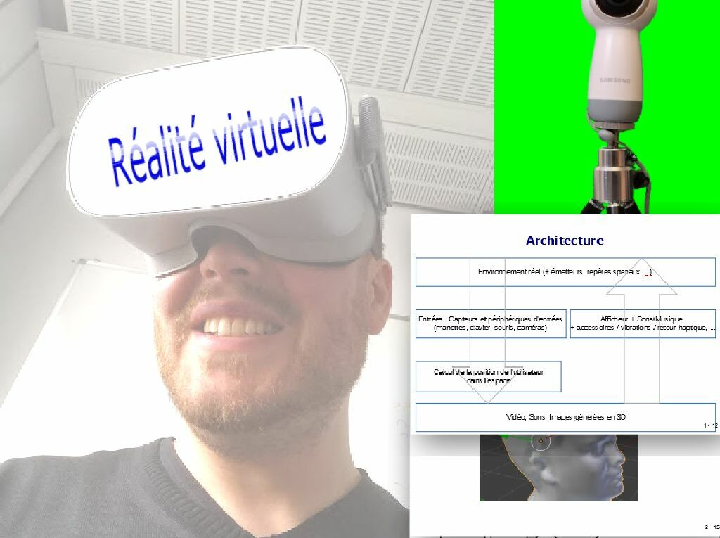 formation réalité virtuelle, réalité augmenté et réalité mixte
